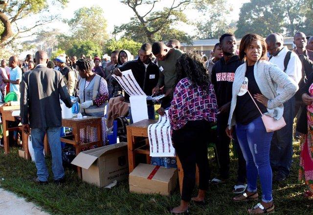 Malaui.- Malaui aplaza los resultados de los comicios a la espera de una investigación sobre las denuncias por fraude