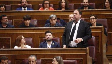 Junqueras demana a la Mesa del Congrés que reconsideri la suspensió de diputats presos (Eduardo Parra - Europa Press)