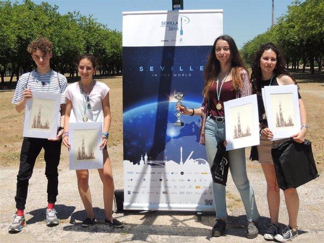 Sevilla.- Unos 50 estudiantes presentan sus proyectos para fabricar un cohete en 'RoWo Competition'