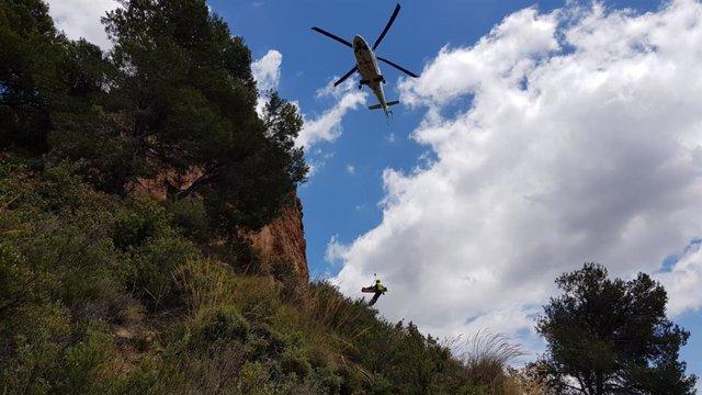 Sucesos.- Dos escaladores heridos tras caer de varios metros de altura en Valencia y Alicante