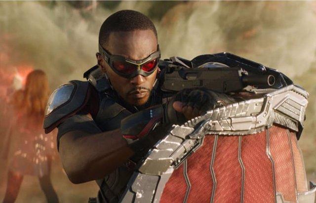 Vengadores Endgame: Brutal fan art de Falcon como el nuevo...((SPOILER))