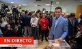 Elecciones 2019 | Directo: Albert Rivera ejerce su derecho al voto
