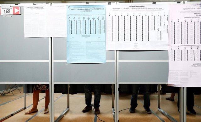 UE.- El grueso de los países de la UE acuden a las urnas para las elecciones al Parlamento Europeo