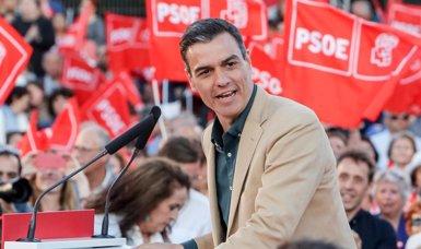 """Sánchez demana obrir un """"horitzó d'estabilitat política"""" després de les eleccions (Ricardo Rubio - Europa Press)"""