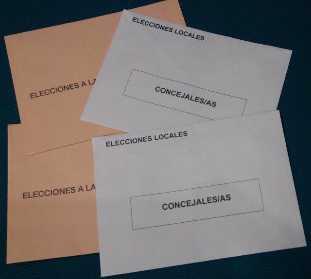 26M.- Las mesas electorales contarán primero los votos al Parlamento europeo y después los de municipales y autonómicas