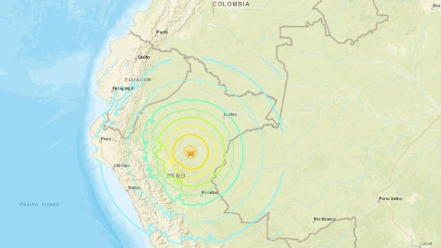 Un sismo de 8,0 grados sacude a Perú, Ecuador, Colombia y Brasil