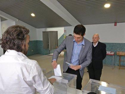 """Belaza (Vox) anima a la participación """"con la esperanza de que haya un cambio en Logroño"""""""