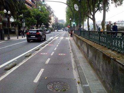 Policía Municipal de Bilbao inicia una campaña de control sobre la correcta circulación de bicis, motos y ciclomotores