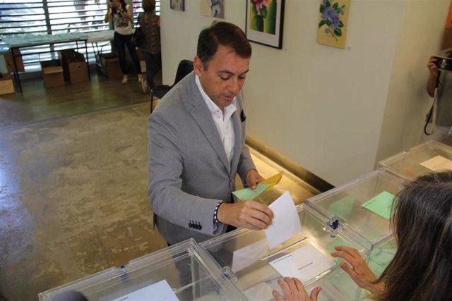 """26M.- Bermúdez (CC) Espera Que """"Muchísimas"""" Personas Acudan A Votar Porque Está 'En Juego' El Futuro De Santa Cruz"""