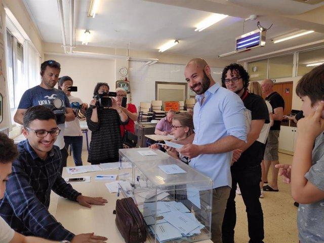 """26M.- Alicante.- López (Unides Podem-EU) Anima A La Ciudadanía A Votar Para Ser """"Dueña De Su Futuro"""""""