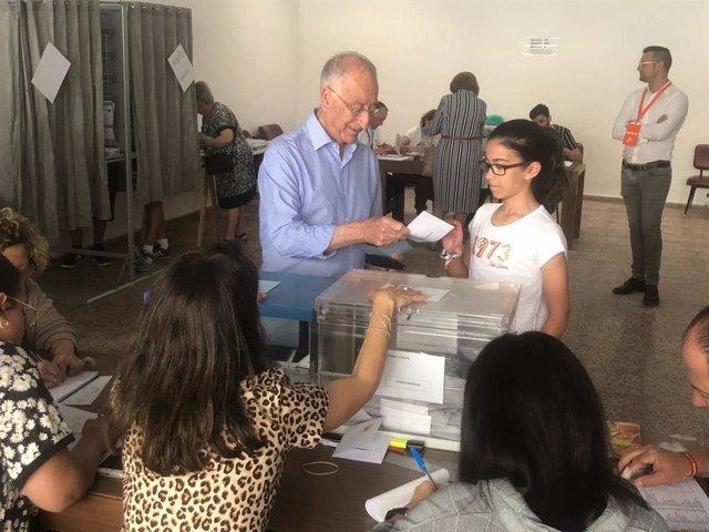 """Almería.-26M.-Amat (PP) pide a los ciudadanos que reflexionen antes de acudir """"con plena libertad"""" a votar"""