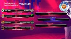 Reial Madrid-Manresa, Barça-Joventut, Baskonia-Saragossa i València-Unicaja, duels del play-off (ACB PHOTO)
