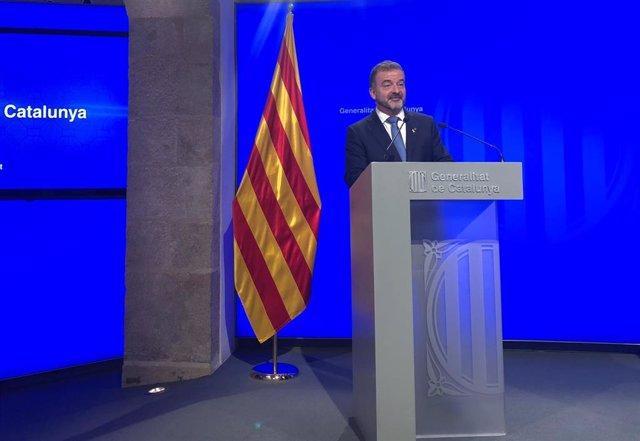 """AV.- 26M.- Bosch destaca la participación en Catalunya pero el voto exterior es """"dificilísimo"""""""