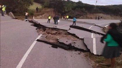 Al menos un muerto y 11 heridos tras el sismo de 8.0 grados que ha afectado a Perú, Ecuador, Colombia y Brasil