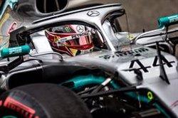 Hamilton homenatja Niki Lauda amb un sofert triomf a Mònaco i Sainz acaba sisè (THOMAS FENETRE / DPPI Media / AFP7 / Europapress)