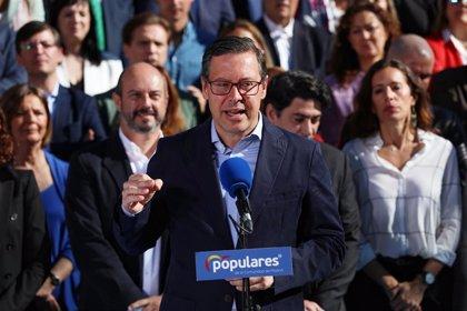 """PP de Madrid se muestra """"tranquilo"""" e incide en que las encuestas recogen que estará """"muy ajustado"""""""