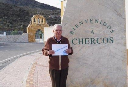 El alcalde de Chercos (Almería), con 93 años, renueva un mandato más al frente de la Alcaldía