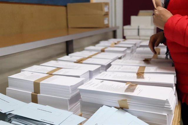AMP.- 26M.- La participación en las elecciones municipales en Aragón es del 51,9%, similar a la de 2015