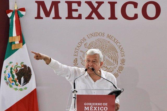 Mexican President Obrador press conference