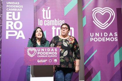 Unidas Podemos celebra la alta participación registrada en las europeas, y destaca la importancia de estos