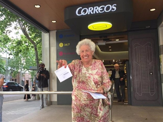 26M-M.- El PSOE Gana Con Holgura En Patones Y 'Charito', La Candidata De 'Abuelas', Logra Ser Edil A Los 95 Años