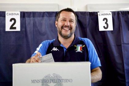 El partido de Salvini logra una contundente victoria en Italia mientras el M5S queda tercero