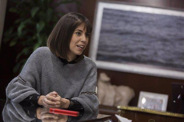 La alcaldesa de Gandia, Diana Morant.