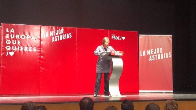 """28M-M.- Avilés- Monteserín (PSOE) Asume La Victoria """"Con Gusto"""" Y """"Con Responsabilidad"""""""