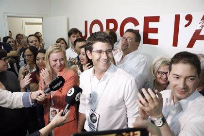 Jorge Rodríguez (LaVall) borra al PSPV en Ontinyent al lograr 17 ediles y dejar sin representación a su expartido