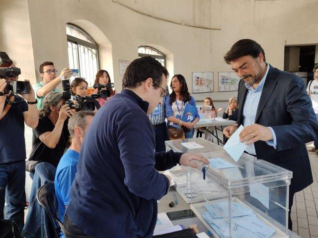 """26M.- Alicante.- Barcala dice que las expectativas del PP son """"muy buenas"""" tras una campaña """"muy competida"""""""
