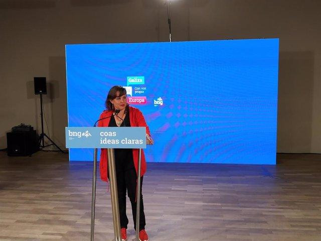 """26M.E.- Ana Miranda Asegura Que """"Volverá A Bruselas"""" Ya Que El BNG """"Dobló Sus Resultados"""" En Las Europeas"""