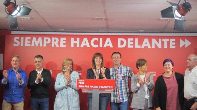 """26M.- Mendia (PSE) Apela A """"La Responsabilidad De Todos Los Partidos Vascos Para Hacer Posible La Gobernabilidad"""""""