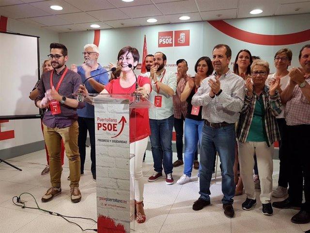 """Rodríguez traslada al pueblo de Puertollano su """"inmenso agradecimiento"""" y ofrece diálogo al resto de formaciones"""