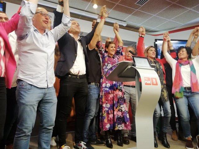 """26M-A.- Chivite Dice Que Será """"Coherente"""": """"Queremos Liderar Un Gobierno De Progreso Y No Daremos Los Votos A Esparza"""""""