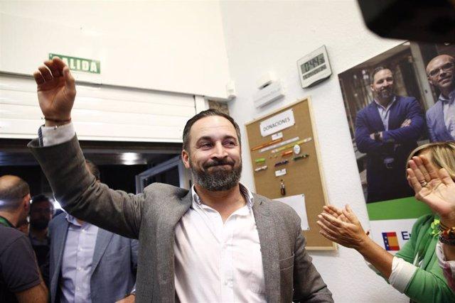 Elecciones 26M 2019. Seguimiento de resultados de VOX  en Madrid