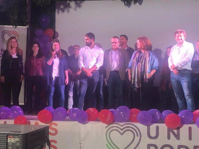 """26M-A.- Yllanes: """"Vamos A Seguir Obligando Al PSOE A Dar Un Pasito Más"""""""