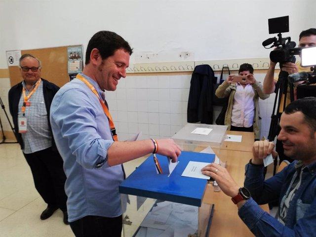 """26M.- Castellón.- Garcia se muestra """"convencido"""" de que Compromís sacará un resultado """"histórico"""""""