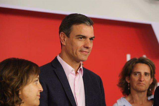 VÍDEO: 26M.- Sánchez, decepcionado porque el PSOE, pese a quedar primero, no gobernará Madrid y puede perder Aragón