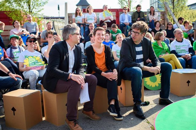 32-hour election campaign marathon of the Greens in Berlin