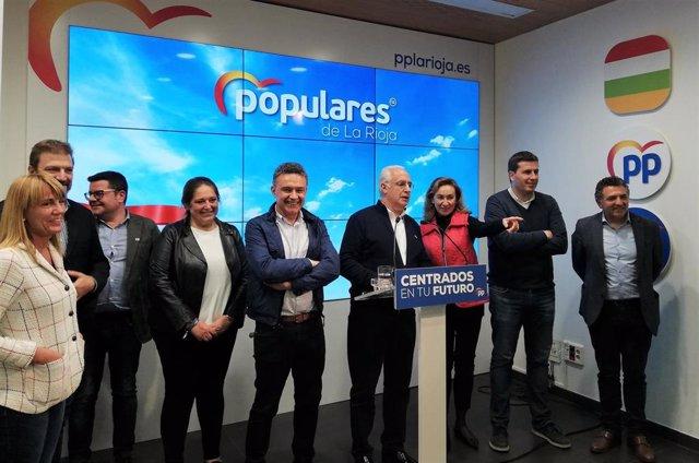 """26M-A.-Ceniceros (PP) Admite Los """"Malos Resultados"""" Y Aboga Por """"Reflexionar"""" Y """"Recuperar"""" La Confianza De Los Riojanos"""