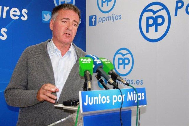 Málaga.- Ángel Nozal (PP) presentará este sábado su proyecto político para la Alcaldía de Mijas