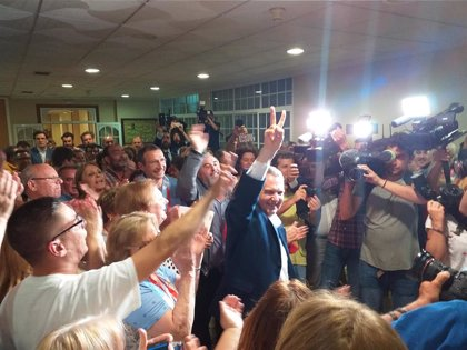 """Abel Caballero celebra la victoria """"sin precedentes"""" y augura: """"Tenemos por delante 4 años apasionantes"""""""