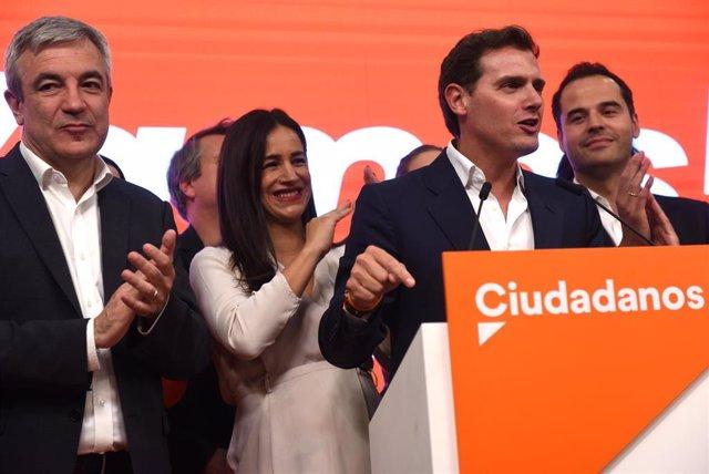 Elecciones 26M 2019. Seguimiento de resultados de Ciudadanos en Madrid
