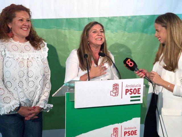"""Cádiz.-26M-M.- Irene García (PSOE): """"Se cierra un ciclo electoral que nos sitúa como la fuerza ganadora en la provincia"""""""