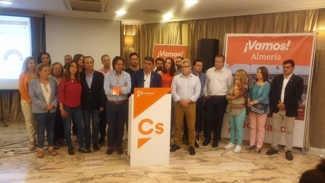 """Almería.-26M-M.-Cazorla (Cs) dice que los resultados """"no cumplen las expectativas"""" pero aún se ve """"llave"""" de gobierno"""