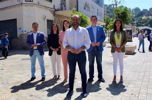 """Málaga.- 26M.- Cs presenta 15 proyectos para """"transformar Málaga"""" que buscan ampliar el centro y asomar la ciudad al mar"""