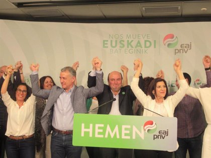 PNV refuerza su hegemonía en Euskadi al vencer en las tres capitales vascas y en las Juntas Generales