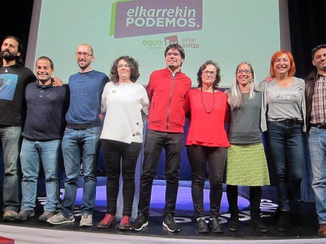 26M.- Martínez (Elkarrekin Podemos) Dice Que Estas Elecciones Suponen La Consolidación Del Proyecto A Nivel Local