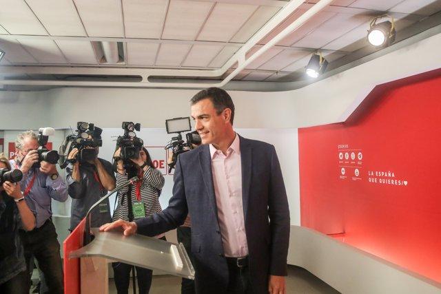 Elecciones 26M 2019. Seguimiento de resultados del PSOE en Madrid