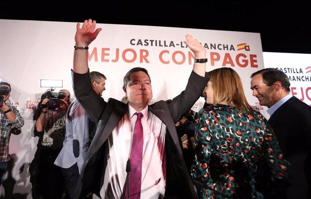Elecciones 26M 2019. Seguimiento de resultados del PSOE en Castilla-La Mancha